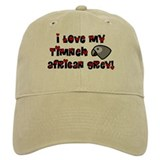 Anime Timneh African Grey Hat (White or Khaki)