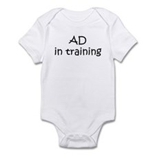 AD in training Infant Bodysuit