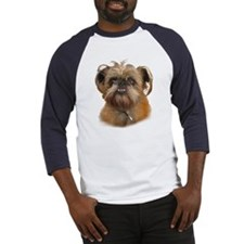 Cute Brussels griffon rescue Baseball Jersey