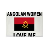 Angolan Women Love Me Rectangle Magnet