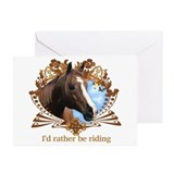 Painted horse Greeting Cards (20 Pack)