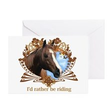 I'd Rather Be Riding Greeting Cards (Pk of 20)