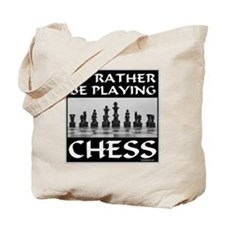 CHESS PLAYER Tote Bag