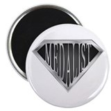 "SuperMedalist(metal) 2.25"" Magnet (100 pack)"
