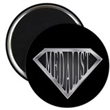 "SuperMedalist(metal) 2.25"" Magnet (10 pack)"