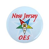 "New Jersey Eastern Star 3.5"" Button"