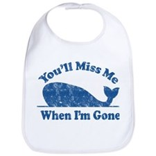 Save the Whale Bib