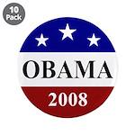 "Barack Obama 2008 Election 3.5"" Button (10 pa"