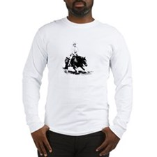 cutting horse Long Sleeve T-Shirt