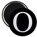 "O 2.25"" Magnet (10 pack)"
