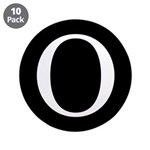 """O 3.5"""" Button (10 pack)"""