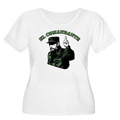 Fidel Castro Women's Plus Size Scoop Neck T-Shirt