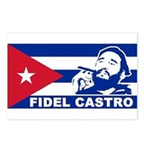 Fidel Castro Cuba Postcards (Package of 8)