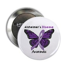 "AD Butterfly 2.25"" Button (10 pack)"