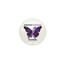 AD Butterfly Mini Button (10 pack)