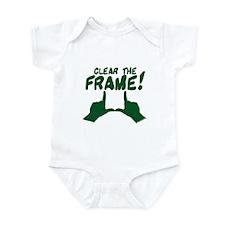 Clear the Frame! Infant Bodysuit