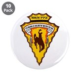 "USS Cheyenne SSN-773 3.5"" Button (10 pack)"