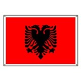 Albanian Banner