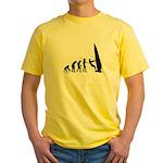 Windsurfer Evolution Yellow T-Shirt