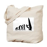 Windsurfer Evolution Tote Bag