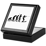 Water Ski Evolution Keepsake Box