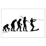 Water Ski Evolution Large Poster
