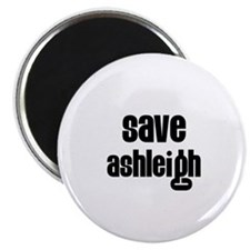"Save Ashleigh 2.25"" Magnet (10 pack)"