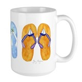 3 Pairs of Flip-Flops Mug