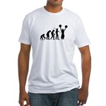 Cheerleader Evolution Fitted T-Shirt