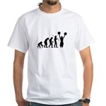 Cheerleader Evolution White T-Shirt