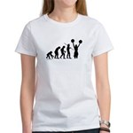 Cheerleader Evolution Women's T-Shirt