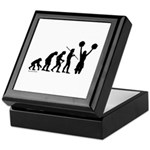 Cheerleader Evolution Keepsake Box