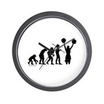 Cheerleader Evolution Wall Clock
