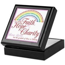 IORG-Faith,Hope,Charity Keepsake Box