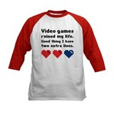 Video Games Ruined My Life. Tee