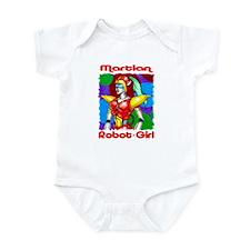 Martian Robot Girl Infant Bodysuit