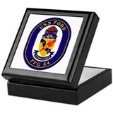 USS Ford FFG-54 Keepsake Box