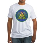 Masonic Acacia & Pyramid Fitted T-Shirt