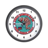 Cool Bowfin Wall Clock