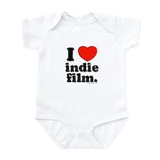 I Love Indie Film Infant Bodysuit
