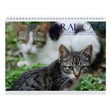 Feral Cat Colony Wall Calendar