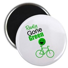 Gone Green Funny Magnet