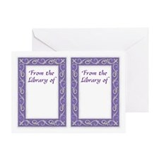 Purple Frame Bookplates