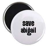 "Save Abigail 2.25"" Magnet (10 pack)"