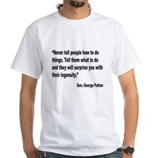 Patton Ingenuity Quote Shirt
