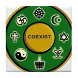 Coexist Tile Coaster