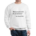 Patton Planning Quote Sweatshirt
