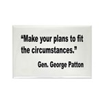 Patton Planning Quote Rectangle Magnet (10 pack)
