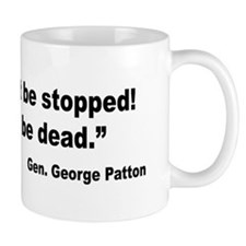 Patton Win Lose Quote Mug