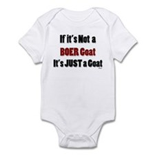 Just a Goat Infant Bodysuit